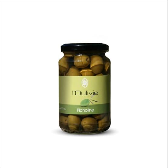 olives picholine du Domaine L'Oulivie