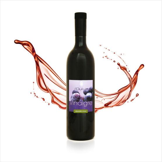 vinaigre doux rouge du Domaine de L Oulivie