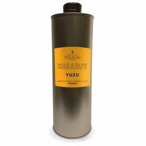 Huile d'olive au Yuzu du Domaine L'Oulivie