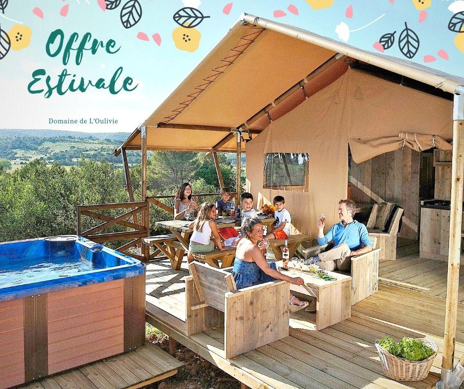 Domaine de L'Oulivie : Gîtes insolites dans l'Hérault Offre estivale