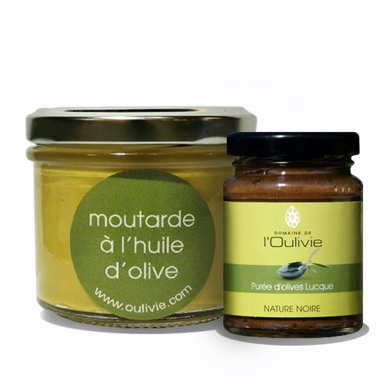 Purée Olive Noire Oulivie et Moutarde